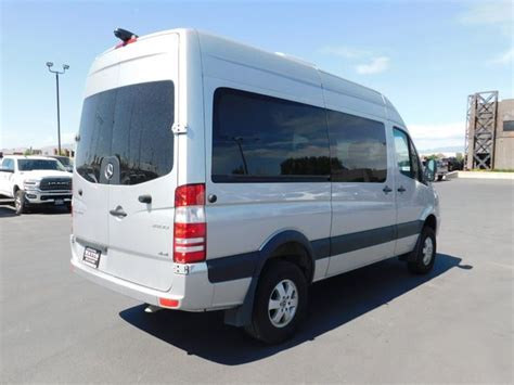 Discover how the efficient sprinter passenger van can save you money in the long run with our total cost of. 2018 Used Mercedes-Benz Sprinter Passenger Van 2500 4WD DIESEL at Watts Automotive Serving Salt ...