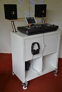 IKEA DJ Booth For Less Than 100 Euro DJ BastiQ