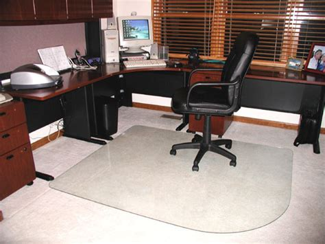 office chair mats for carpets by glassmat