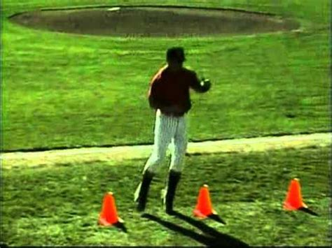 cone drill baseball conditioning drill set youtube
