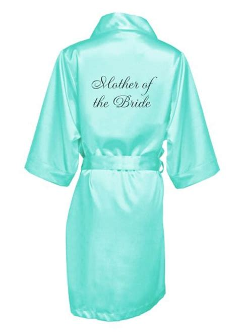 embroidered mother   bride satin robe davids bridal