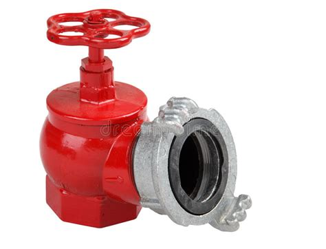 Iron Hydrant Valve With Socket For Connection Of Fire Hose