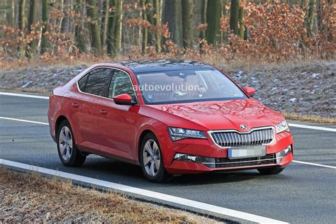 2020 The Skoda Superb by 2020 Skoda Superb Facelift Spied Looks Ready To Borrow