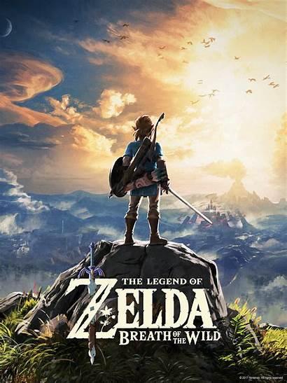 Zelda Breath Wild Legend Nintendo Wallpapers Botw