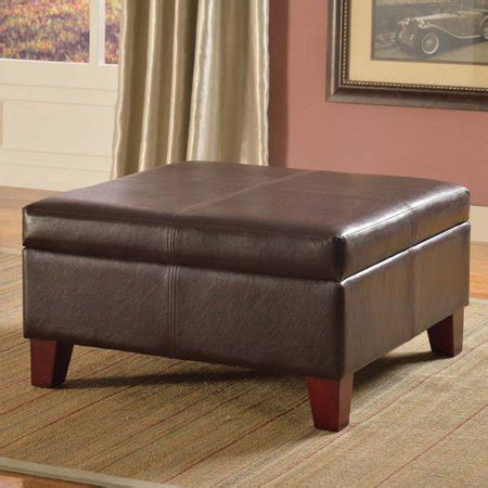 Large Faux Leather Ottoman by Kinfine Usa Luxury Large Faux Leather Storage Ottoman