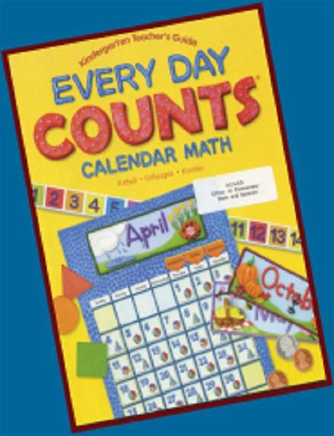 mathematics day counts calendar math