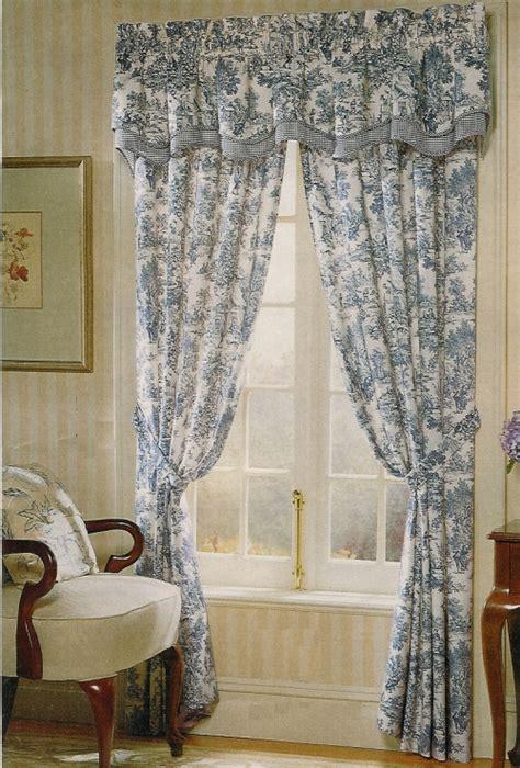 toile drapes park toile curtains style t675 a l ellis