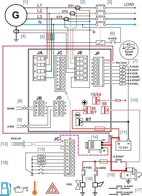Different Ac Wiring Diagram by 3 Pole Transfer Switch Wiring Diagram Collection