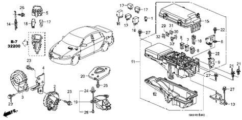 Acura Online Store Control Unit Engine Room Parts