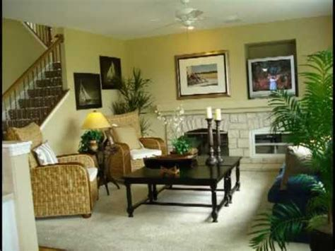 model home interior decorating part  youtube