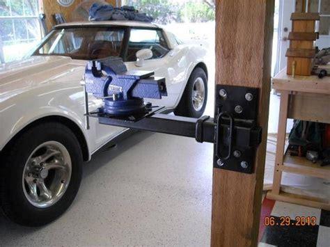 vise mounted  garage journal board