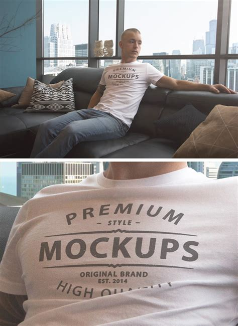 Discover the coolest new clean and professional free mockups. 35+ Best T-Shirt Mockup Templates - Free PSD Download ...
