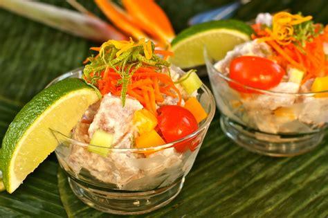 bora cuisine tahitian poisson cru 39 s
