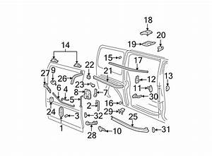 Chevrolet Express 3500 Sliding Door Handle  Sliding Type