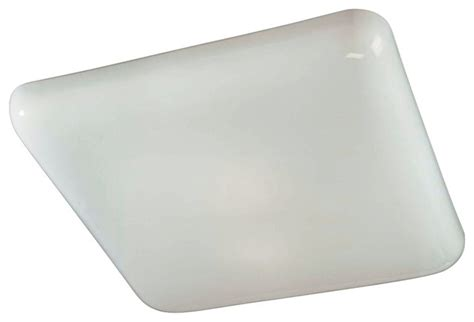 square kitchen fluorescent 19 quot wide ceiling light fixture