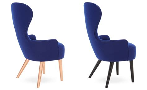 wingback dining chair hivemodern