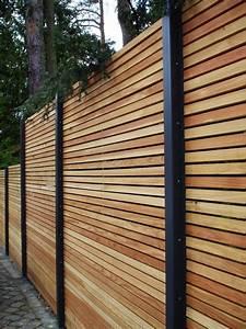 Balkonverkleidung Aus Holz : sichtschutzzaun holz l rche metall secret 1 der metall ~ Lizthompson.info Haus und Dekorationen