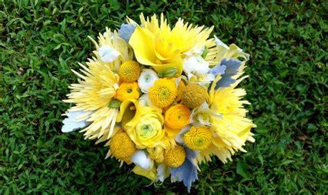 My Wedding Bouquet That I Made Yellowgraywhite