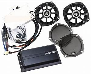 Kicker Klock Werks Fit Kits Front Speaker Upgrade System