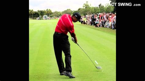 perfect impact position golf swing youtube