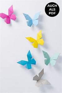 Schmetterlinge Basteln 3d : tierkopf wanddeko aus papier papershape ~ Orissabook.com Haus und Dekorationen