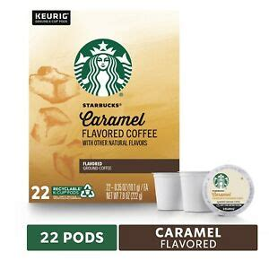 The starbucks® medium roast beans balanced with luscious caramel notes create a treat you can savor and share. Starbucks Caramel Coffee 22 to 132 Count Keurig K cups Pick Any Quantity   eBay