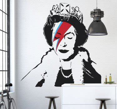 Queen Elizabeth Banksy Graffiti
