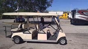 Club Car 2001 Model Ds Gasoline Powered Transport Golf Cart