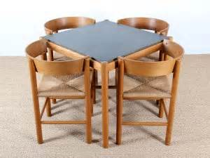 table et chaise encastrable set of dining table and 4 chairs model fh4216 fh4226
