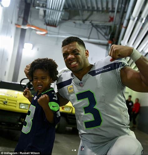 russell wilson  wife ciara visit seattle hospital