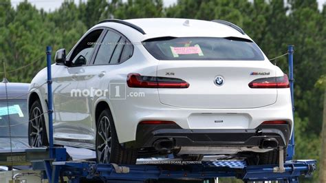 2019 BMW X4 Spotted Sans Camouflage