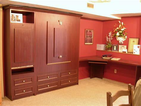 upright murphy bed