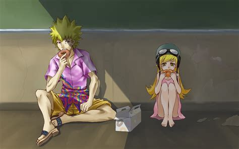 Meme Oshino - monogatari series wallpaper and background 1680x1050 id 126618
