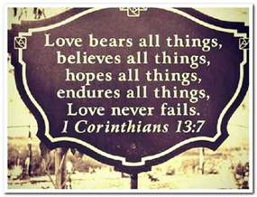 Bible Quotes About Unconditional Love
