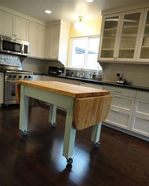 portable kitchen islands   reconfiguration easy