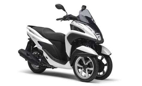 Yamaha Releases Tricity Three-wheel Scooter In Thailand