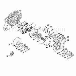 Stihl Ms 381 Chainsaw  Ms381  Parts Diagram  Clutch