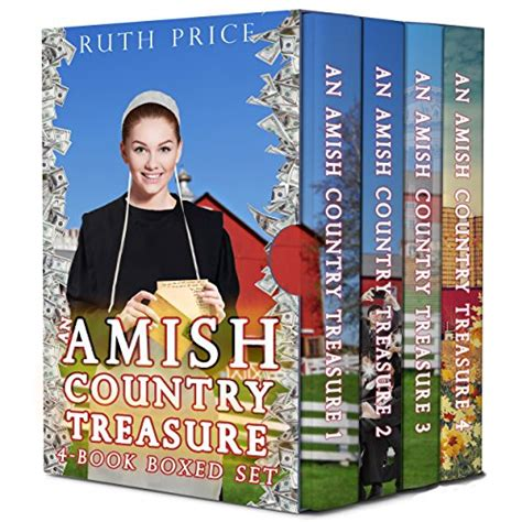 A Bundle Of 5 Book Series by A Family Christian Book Storean Amish Country Treasure 4