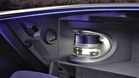 mercedes benz  class  perfume dispenser car news
