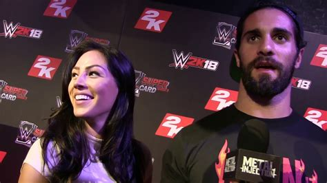 seth rollins talks bringing  girlfriend   metal show