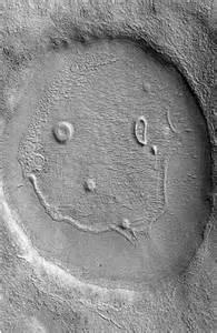 Aliens On Mars Moon