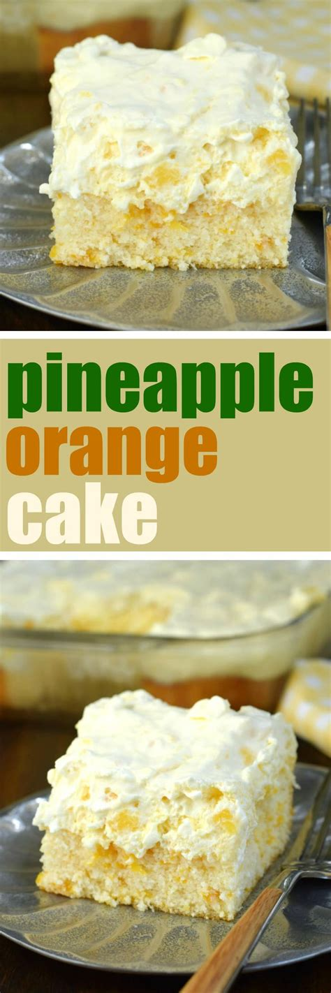 light dessert recipes pineapple orange cake is an easy light dessert recipe