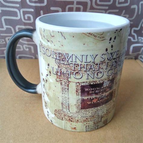 Makes a great no brainer gift idea! Drop Shipping, Magic mischief managed mug Changing color mugs Light Magic Mug cup coffee Mugs ...