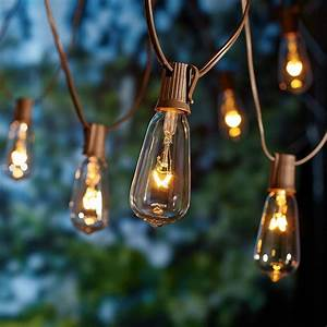 Decorative string lights outdoor 25 tips by making your for Garden string lights