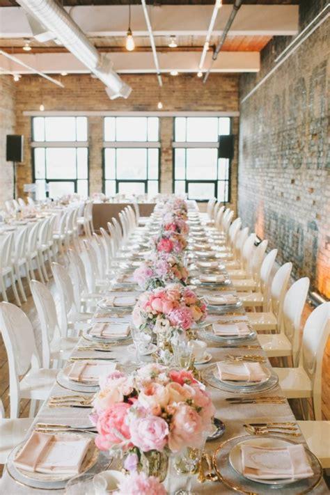 Blumen Hochzeit Dekorationsideenhochzeit Deko Fuers Boden by 40 Leichte Schnelle Und G 252 Nstige Tischdekoration Ideen