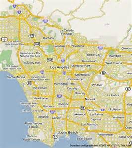 Google Maps Los Angeles City