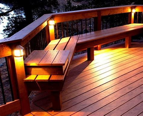 Deck lights to beautify the deck ? BlogBeen