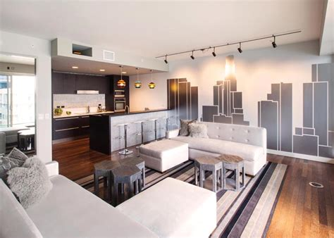 Küche Mit Wohnzimmer by All And At W Residences Penthouse 12g