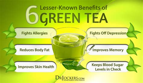 what is the best green tea to drink 6 lesser known benefits of green tea drjockers