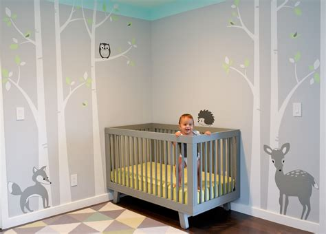 Babyzimmer Wandgestaltung Ideen by Bedroom Wall Color Interior Design In Modern Baby
